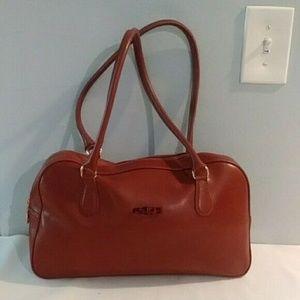 Longchamp Brown Leather Handbag